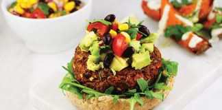 Mexican sweet potato burgers Easy Food