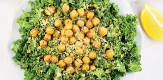 Kale Caesar salad Easy Food