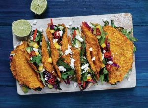 Low-carb carrot taco shells Easy Food