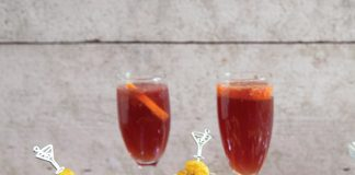 Easy champagne cocktail Easy Food