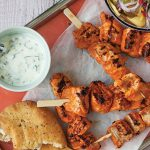 Tikka salmon skewers Easy Food
