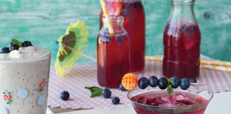 Blueberry summer drinks Easy Food