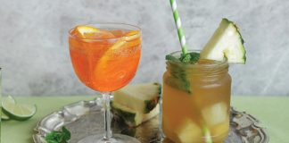 Pineapple mojitos Easy Food