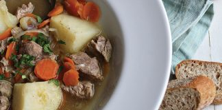 Traditional Irish stew Easy Food