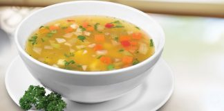 Easy vegetable soup Easy Food