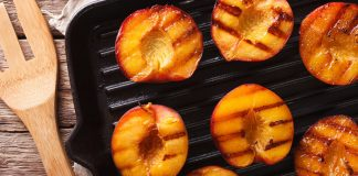 Grilled peaches Easy Food