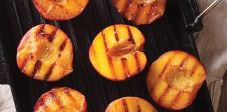 Grilled cinnamon peaches Easy Food