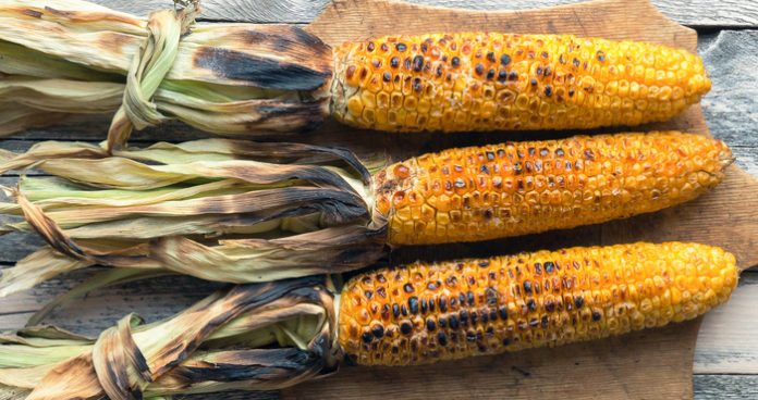 BBQ corn on the cob Easy Food