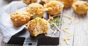 Savoury lunch muffins Easy Food