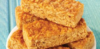 Gluten-free flapjacks Easy Food