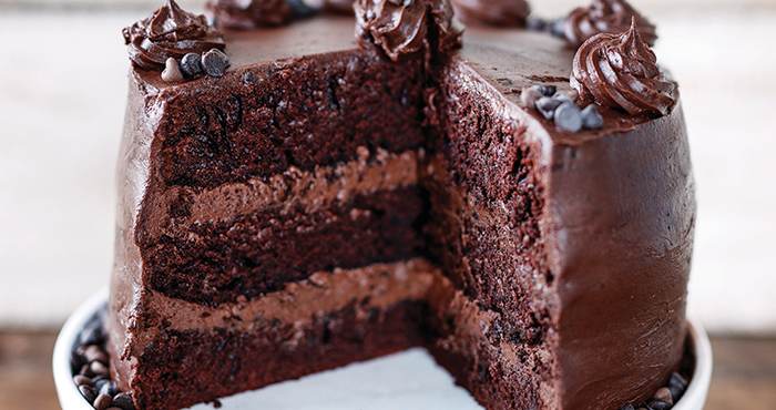 Insanely chocolate cake - Easy Food