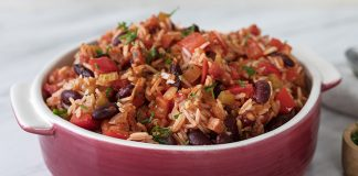Louisiana-style red beans & rice