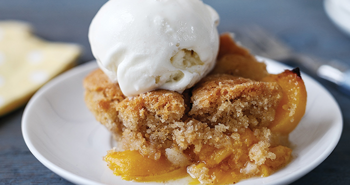 Peach cobbler Easy Food