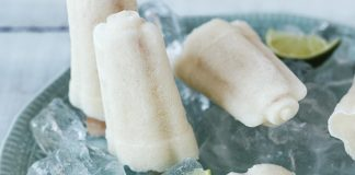 Pineapple and coconut ice pops Easy Food