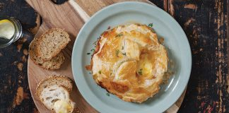 Baked Brie pastry parcel Easy Food