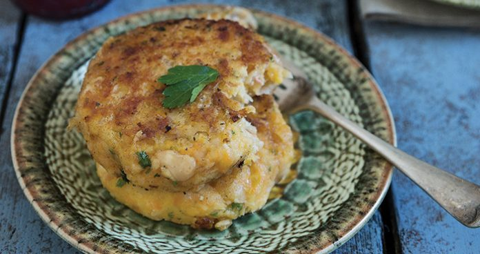 Root vegetable and bean cutlets Easy Food