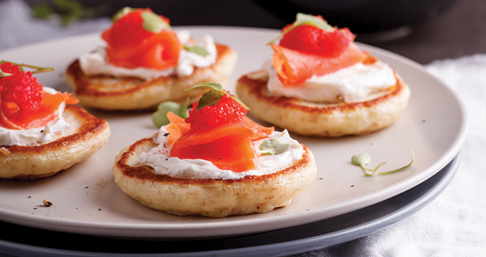 Russian blinis Easy Food