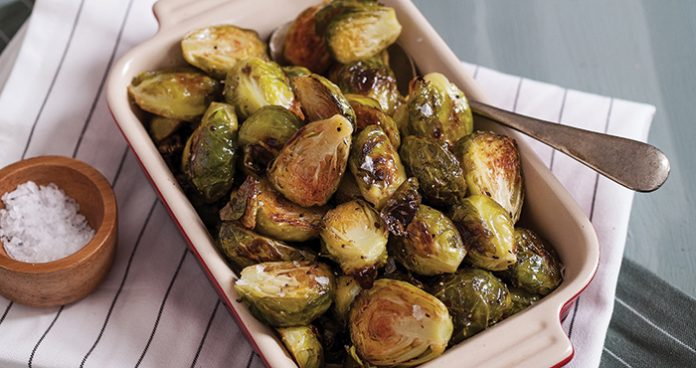 Roasted Brussels sprouts Easy Food