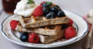 Buckwheat waffles Easy Food