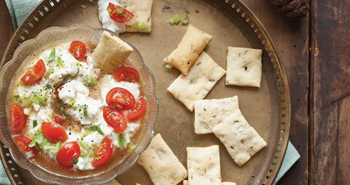 Caprese dip Easy Food