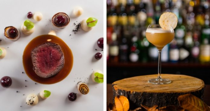Seasonal dishes at Lough Erne Easy Food