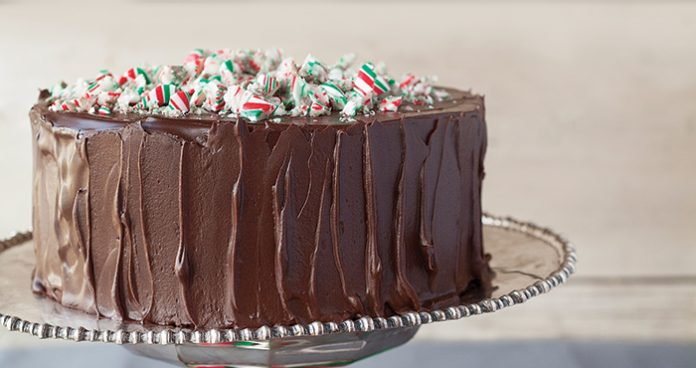 Chocolate peppermint cake Easy Food