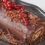 Salted caramel chocolate roulade Easy Food