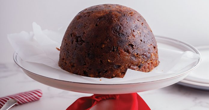 Traditional Christmas pudding Easy Food
