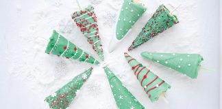 Christmas tree crunch pops Easy Food