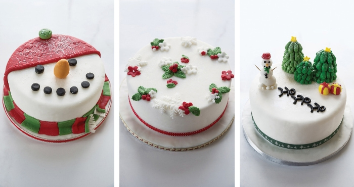 3 Ways With Christmas Fondant Decorations Easy Food