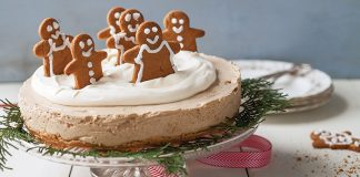 Gingerbread cheesecake Easy Food