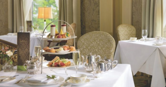 Win tea for four at Glenlo Abbey Easy Food