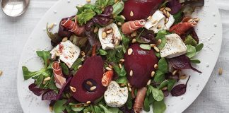 Spiced poached pear salad Easy Food