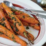 Roast carrots with gremolata Easy Food