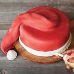 Santa hat cake cover step 11 Easy Food