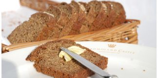 Dromoland Castle's brown bread Easy Food