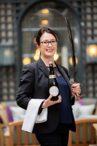 Sommelier Nisea Doddy at The Shelbourne Easy Food