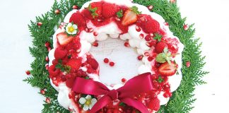 Berry pavlova wreath Easy Food