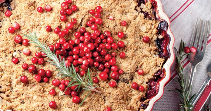 Apple cranberry crumble Easy Food