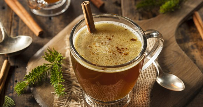 Hot buttered rum Easy Food
