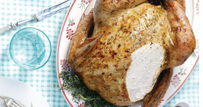 Roast lemon herb turkey Easy Food