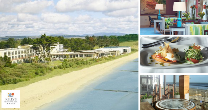 win a midweek stay with dinner for two at kellys resort