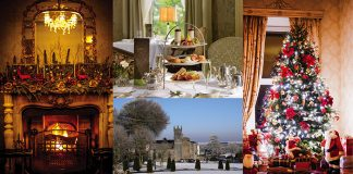 Win tea for four at Glenlo Abbey Hotel