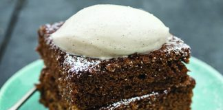 Sticky date ginger cake
