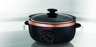 Win rose gold slow cooker