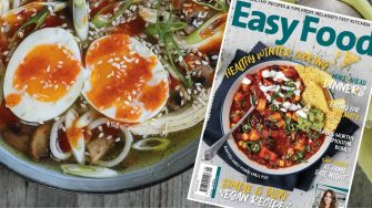 Easy Food magazine January 2019 cover