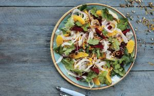Winter citrus beetroot fennel salad Easy Food