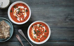 Amped up tomato soup Easy Food