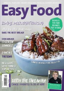 Easy Food February 2019 cover