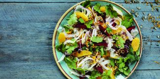 Winter citrus beetroot and fennel salad